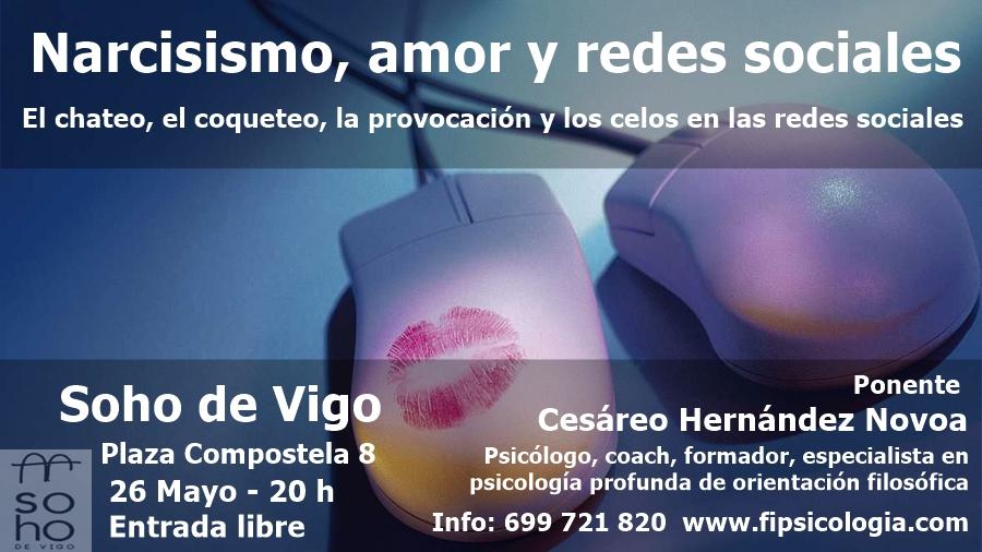 Conferencia Narcisismo Amor Redes Sociales Mayo 2016